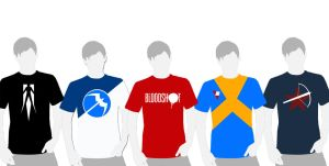 Valiant T-Shirt Designs by Siphen0