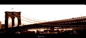 The Brooklyn Bridge by BklynGirl