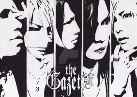 the GazettE 1 by ShibaKuukaku
