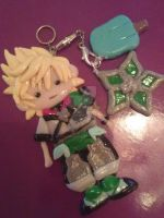 Commision Ventus keychain by Alexandria-Paige