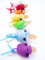 Colorful Popsicle Keychains by CosmiCosmos