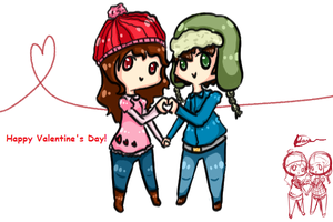 Winter Valentines by FairyBlueSoul