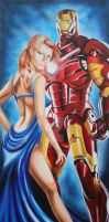 12% of a Partnership- Iron Man/ Pepper Potts by TheGoddess908