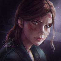 Ellie (The Last of Us 2) by Axsens