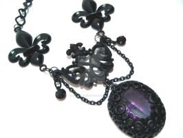 Twilit Aria II Necklace by nightsrequiem