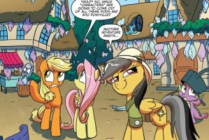 Daring Do from MLP FiM comics by WolfieProductions