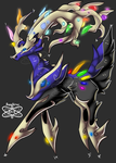 Mega Xerneas +BG Edited+ by iSapphirus