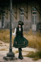 Time ago - Military Lolita by MaySakaali