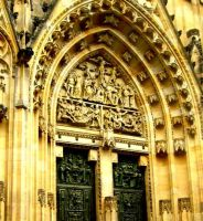 St. Vitus cathedral by lesaphone
