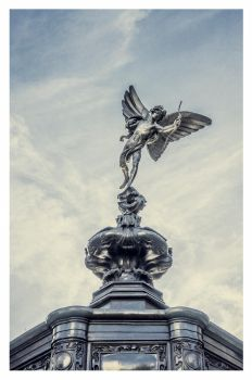 The Winged God of Love, Anteros by deepgrounduk