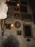 Hogwarts Paintings- Stock by TheCopperDragon2004