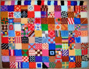 Patchwork Rug by AreteEirene
