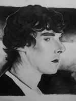 Benedict charcoal by mdnght1