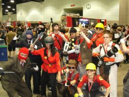 Epic TF2 Group Photo by Peepsicle
