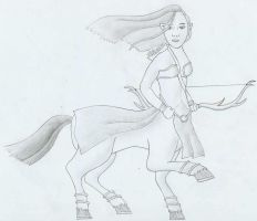 Female Centaur Archer by tessa7338