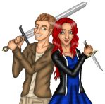 Oliver et Alicia by JellyMayu
