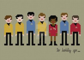 Star Trek cross stitch pattern by avatarswish
