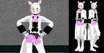 [MMD] Toy Foxy (Mangle) Model with Stockings DL by ZexionStrife