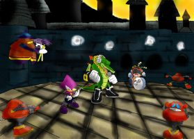 Chaotix pwning by Hamlet1616