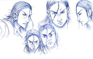 Lost Odyssey sketch 1 by sebasrd24