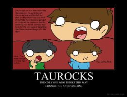 Taurocks motivational poster by World9-2Productions