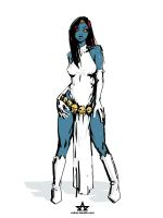 mystique fan art sketch by ReSeth