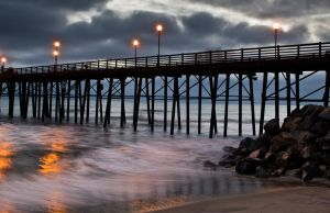 Lights on the Water by Nathan-Ruby
