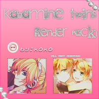 Kagamine Twins Render Pack ! by Koko-CRAZYGurl