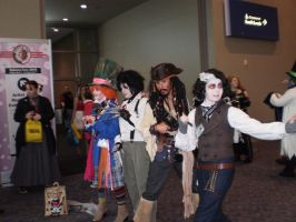 AWESOME Johnny Depp Cosplayers by wild4matt