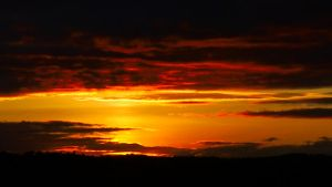 lossiemouth sun set by grolschmonster