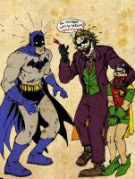 Batman and The Joker by RamonVillalobos