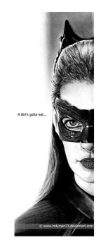 Anne Hathaway, Selina Kyle - The Dark Knight Rises by IndyMan33