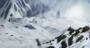 Holy Fortress Concept 2 by Robjenx