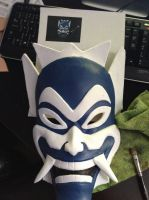 Blue Spirit Mask by b3designsllc
