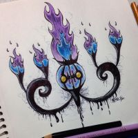 Chandelure by Shinku15