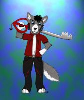Dusty has a keyblade by Angelwolf92