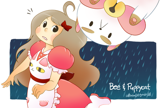 Bee and Puppycat by cottonball