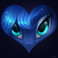 Luna is love by Krrrokozjabrra