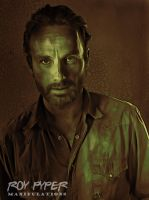 The Walking Dead: Rick: Crayon Re-Edit by nerdboy69