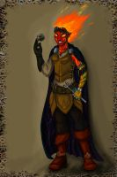Fire Artificer by Cheesedemon88