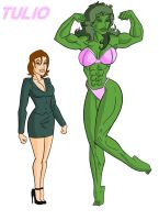 Jennifer She Hulk by TULIO19mx
