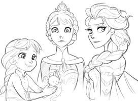 Elsa by Berelince