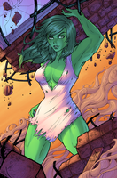 She Hulk by J-Skipper