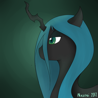 Queen Chrysalis by NasuNi
