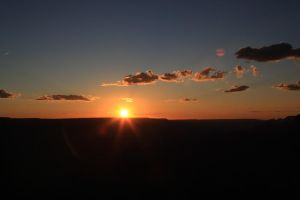 Sunset at Grand Canyon by Haufschild