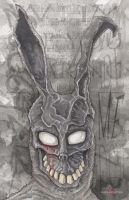 Frank The Bunny Donnie Darko by ChrisOzFulton