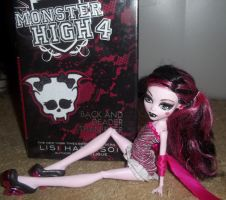 Monster high book 4 with Draculaura by ManaShadow369