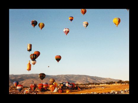 Balloons near Sparks NV 2 by NVMTNGOAT