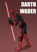 Darth Wader by tatedoodles