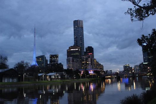 Night Photography- Melbourne #2 by photolover1312